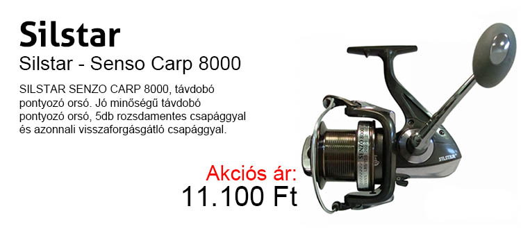 Sistár Senso Carp 8000 most 11.100 Ft