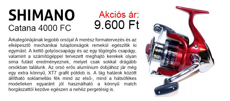 SHIMANO Catana 4000 FC most 9.600 Ft