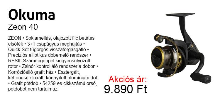 Okuma Zeon 40 most 9.890 Ft