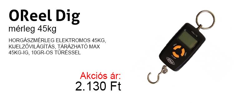 OReel Dig mérleg 45kg