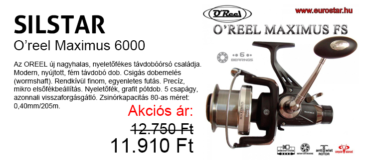 Silstar Oreel MAXIMUS 6000 11.910 Ft
