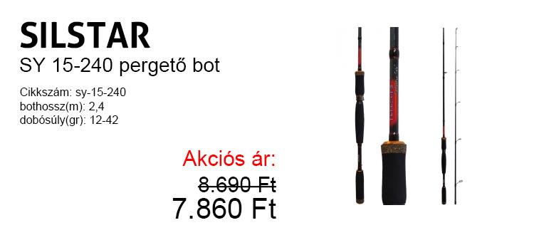 Silstar SY15- 240 pergető bot 7.860 Ft