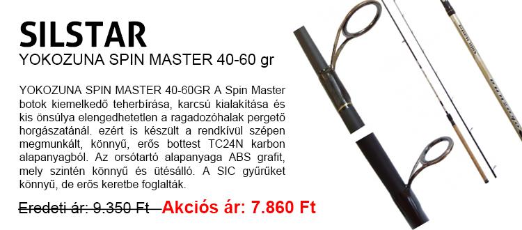 YOKOZUNA SPIN MASTER 40-60 gr pergetőbot