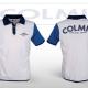 Colmic Galléros fehér polo XXL
