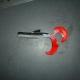 Fekete-tejszin-piros 11cm